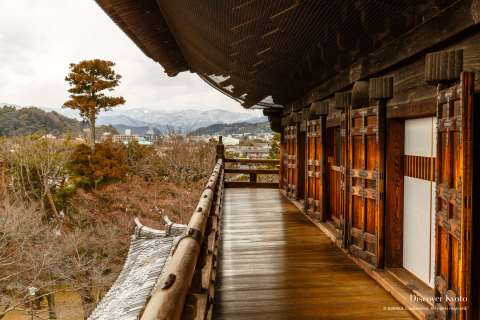 Platform on the Sanmon Gate at Nanzen-ji.