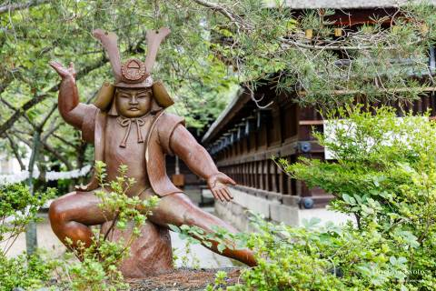 Fujinomori Shrine Kintarō Statue