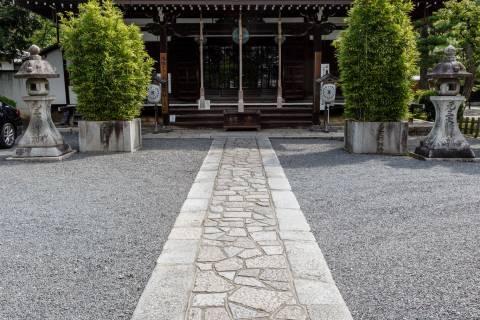 Rozan-ji Temple Hall Side