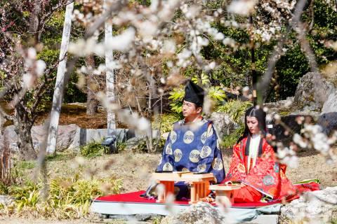 Kitano Kyokusui no En Pair Poetry