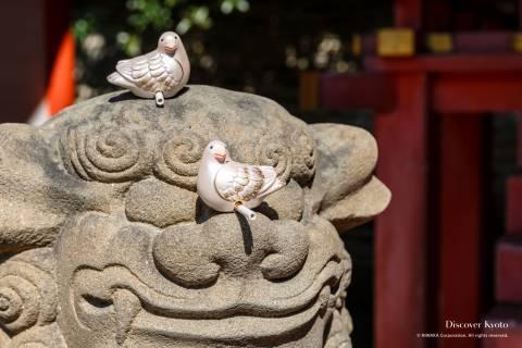 Omikuji Iwashimizu Hachimangū Pigeon Fortune 01