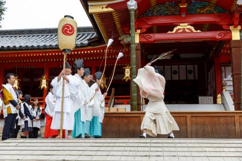 Iwashimizu Hachimangū Setsubun Peach Sword