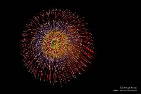 Kyoto Artistic Fireworks Rainbow