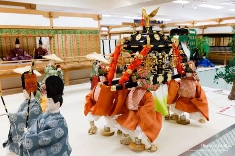 Costume Museum mikoshi festival procession