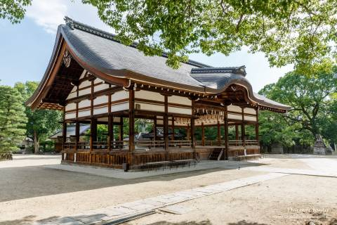Fujinomori Shrine Haiden Worship Hall